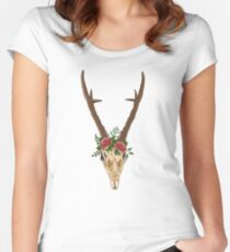 Boho  Fitted Scoop T-Shirt