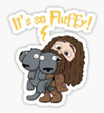 Hagrid - So Fluffy  Sticker