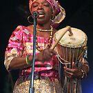Ghana Singer  by Heather Friedman