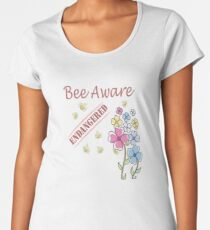 Save the Bees Premium Scoop T-Shirt