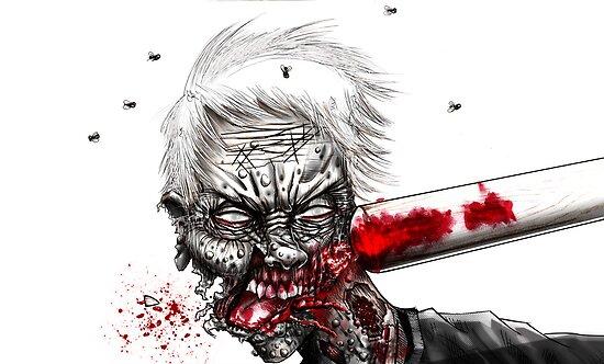 zombie  by Jose Gomez