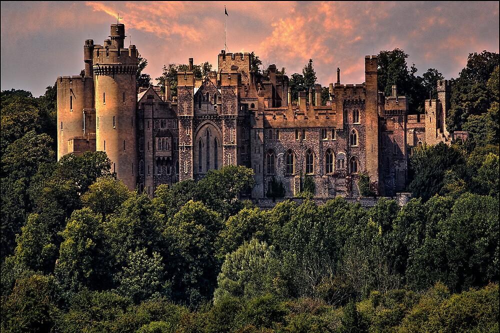 Quot Arundel Castle West Sussex Uk Quot By Chris Lord Redbubble