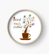 Save Birds' Habitats with Bird Friendly Coffee Clock