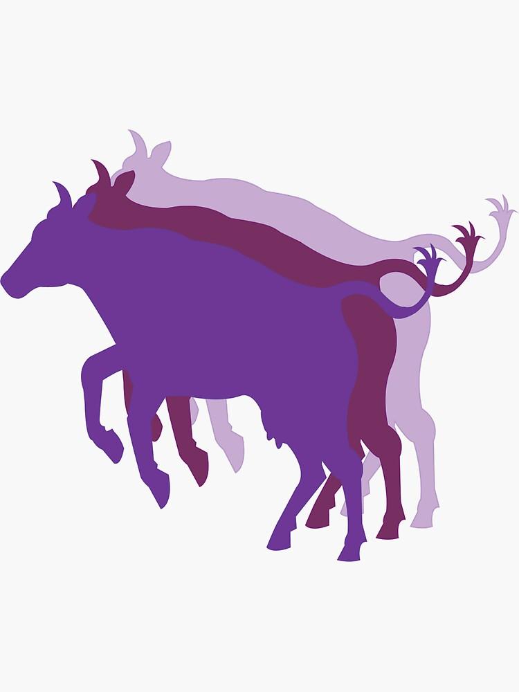 Purple Cows by tanacheye