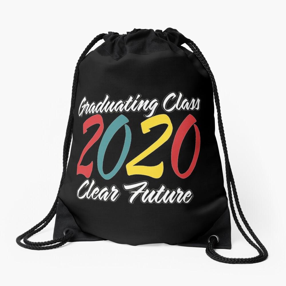 Class of 2020 Graduation Clear Future. Drawstring Bag