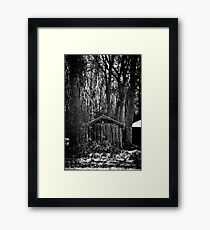 Old Shed - Scotland Framed Print