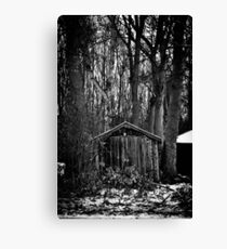 Old Shed - Scotland Canvas Print