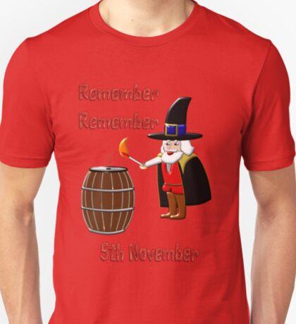 Remember, Remember 5th November T-shirt, etc. design T-Shirt