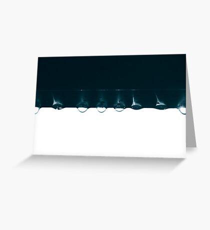 untitled droplets II Greeting Card