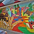 Edible Landscape Mural by Jane Neill-Hancock