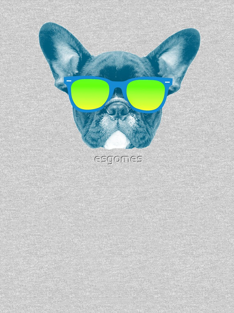 Cool Dog wearing Sunglasses by esgomes
