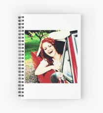 Car Singer Spiral Notebook
