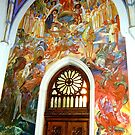 Church of St Martin, Bled, Slovenia by Margaret  Hyde