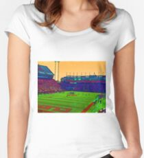 Clemson Tigers Football Women's Fitted Scoop T-Shirt