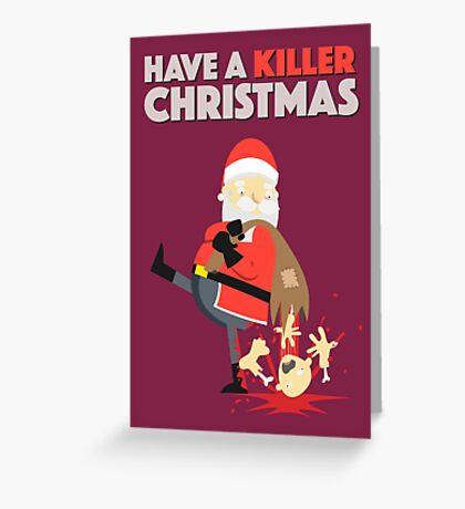 Killer Christmas Greeting Card