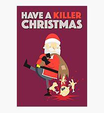 Killer Christmas Photographic Print