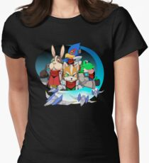 Star Fox Women's Fitted T-Shirt