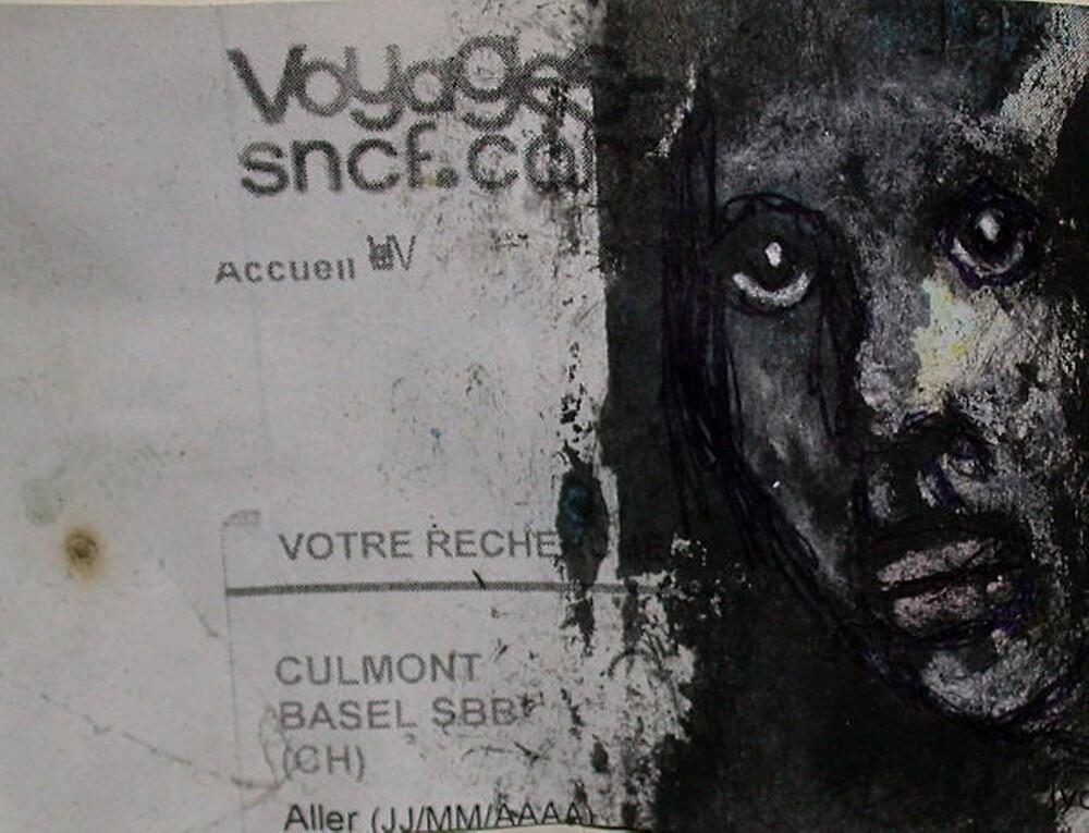 """Face, Bernard Lacoque-69  """"Voyage"""" by ArtLacoque"""