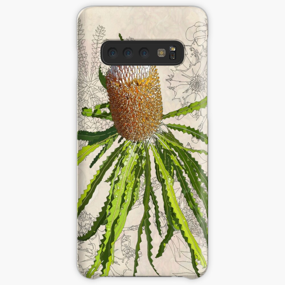 Banksia prionotes Design Mullewa Case & Skin for Samsung Galaxy