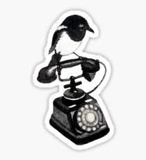 Magpie Call Sticker