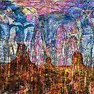 Desert Varnishes - Monument Valley by Richard Maier