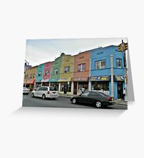 Rainbow Plaza Greeting Card