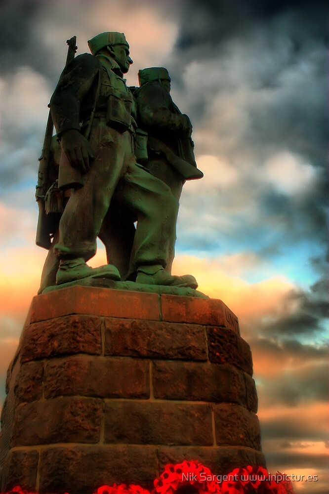 Commando Memorial Spean Bridge by Nik Sargent www.inpictur.es