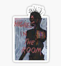 Travis Scott - Highest in the Room Sticker