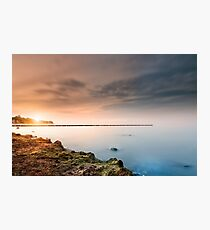 Baltic Sea - Sunset Photographic Print