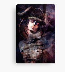 bruised photomanipulation Canvas Print