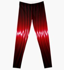 abstract wave energy Leggings