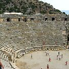 Ancient theatre in Myra by Maria1606