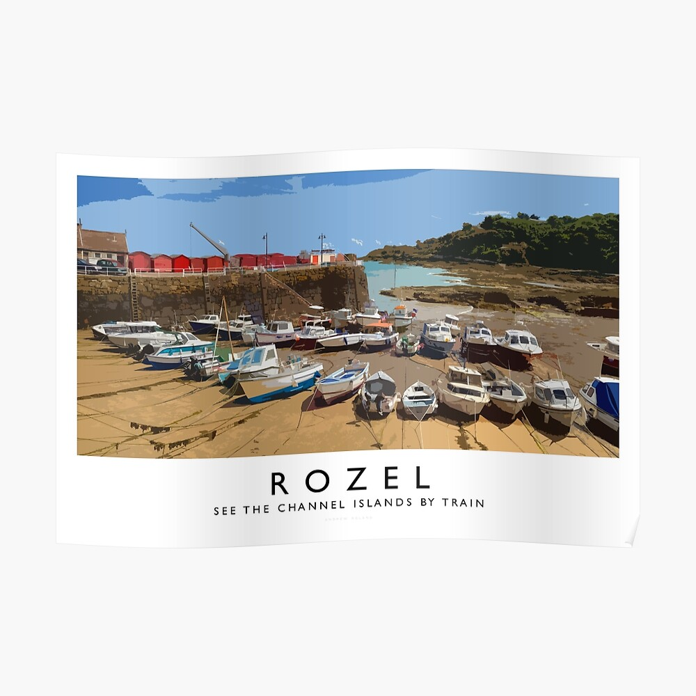 Rozel (Railway Poster) Poster