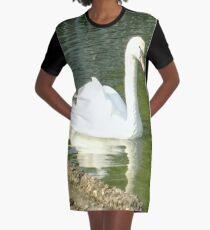 Merch #49 -- Swan - Shot 7 Graphic T-Shirt Dress