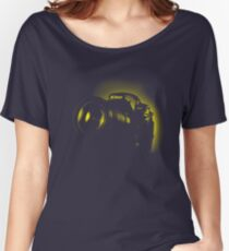I Shoot with my nikon (Halftone style) Women's Relaxed Fit T-Shirt