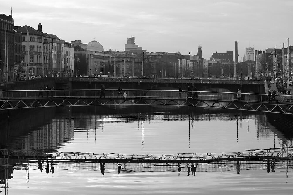 Dublin bridges by Esther  Moliné