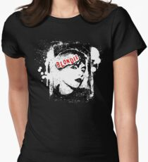 Blondie  Women's Fitted T-Shirt