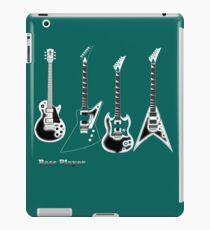 Bass Guitar, bass player iPad Case/Skin