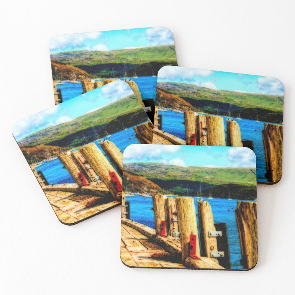 Tighnabruaich Pier Coasters (Set of 4)