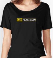 I AM FLASHMAN Women's Relaxed Fit T-Shirt