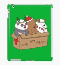 We Bare Bears Love iPad Case/Skin