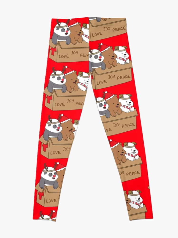 Alternate view of We Bare Bears Love Leggings