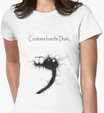 the creatures from the drain 18 Women's Fitted T-Shirt