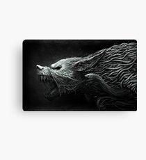 The Black Dragon Canvas Print