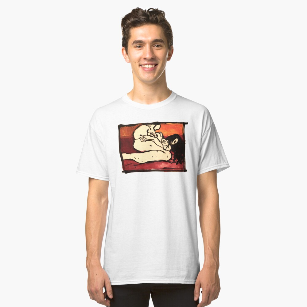 the sun is a lonely lover Classic T-Shirt Front