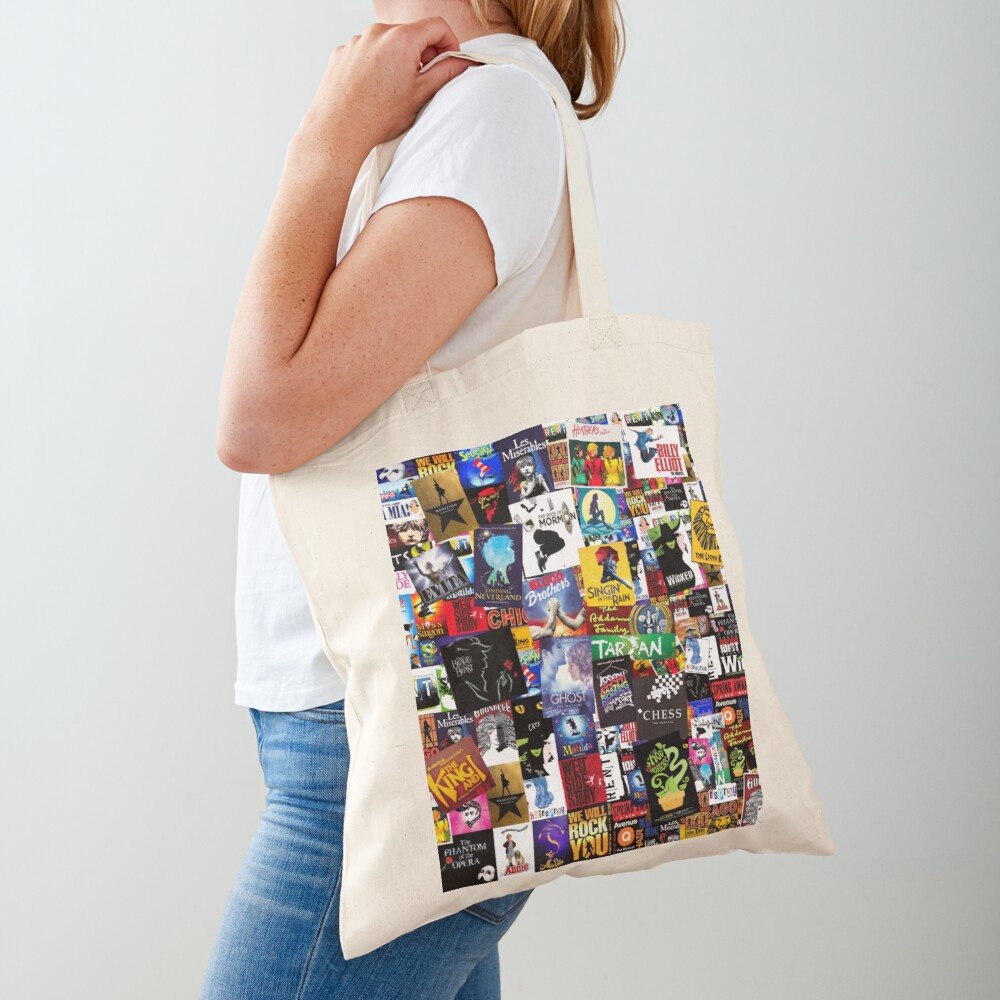 Musicals Collage IV  Tote Bag