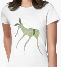 giddy-up Women's Fitted T-Shirt