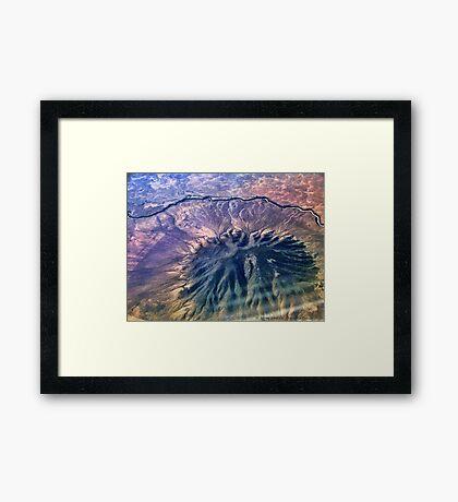 Caldera - Ute Mountain (USA) Framed Print