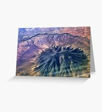 Caldera - Ute Mountain (USA) Greeting Card