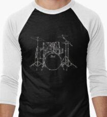 Drums Men's Baseball ¾ T-Shirt